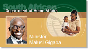 home affairs ministry South Africa