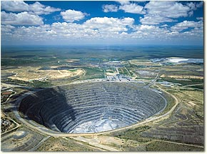 Bergbau in Südafrika
